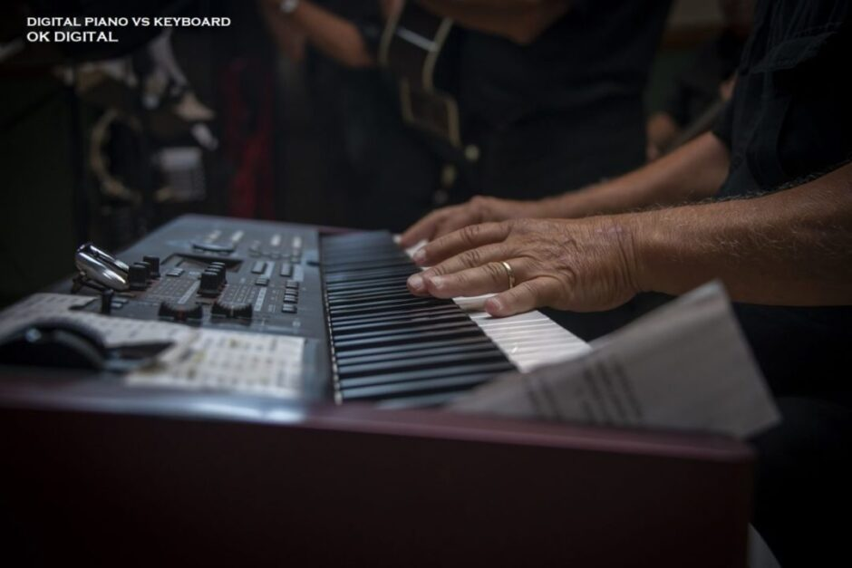 The Best Digital Piano Vs Keyboard - Differences To Choosing
