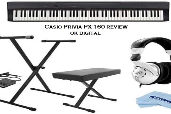 Casio Privia PX-160 Review - 88-Key Full Size Digital Piano with Power Supply