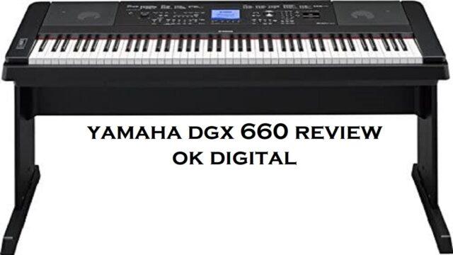 Best Yamaha DGX-660 88-Key Graded Hammer Action Digital Piano In 2020
