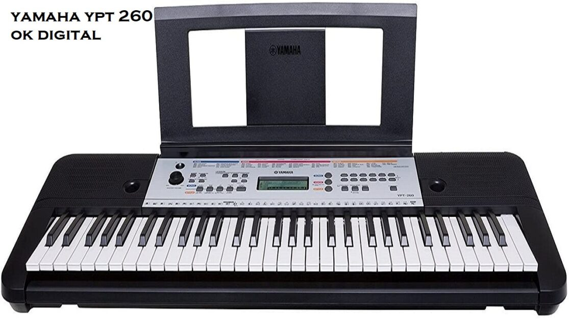 The Best Yamaha Ypt 260 61-Key Portable Keyboard