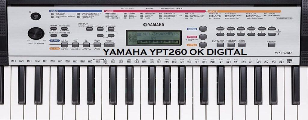 yamaha ypt 260