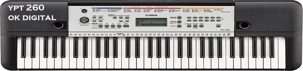 Best Yamaha Ypt 260 61-Key Portable Keyboard With Power Adapter In 2020