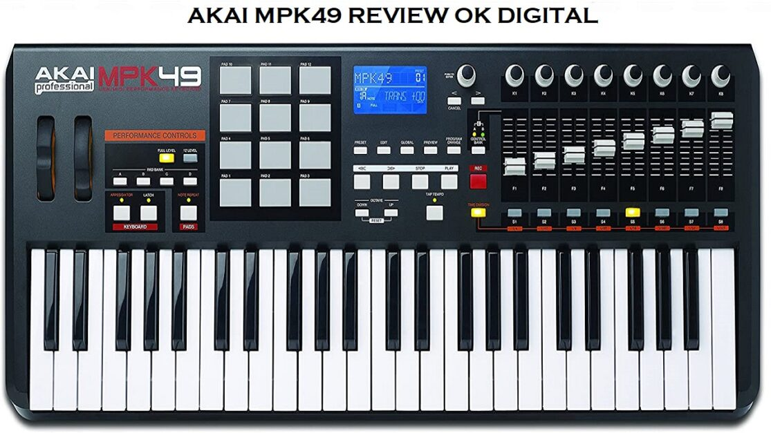 The Best Akai Professional MPK49 - 49-Key USB MIDI Keyboard Controller