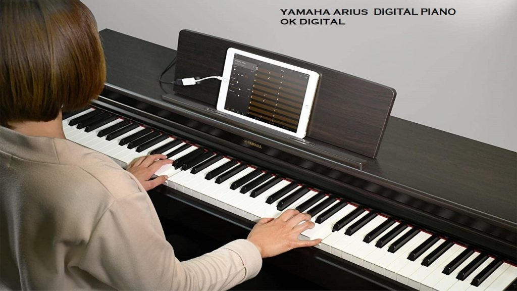 Best Yamaha YDP163B Arius Series Console Digital Piano with Bench