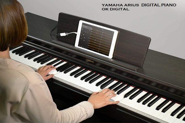 Best Yamaha YDP163B Arius Series Console Digital Piano with Bench