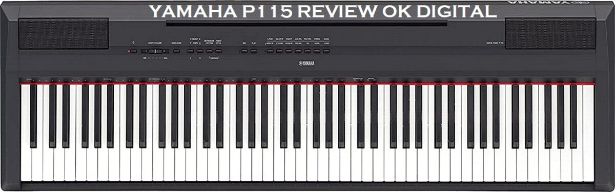 The Best Yamaha P115 88 Key Digital Piano Weighted Action