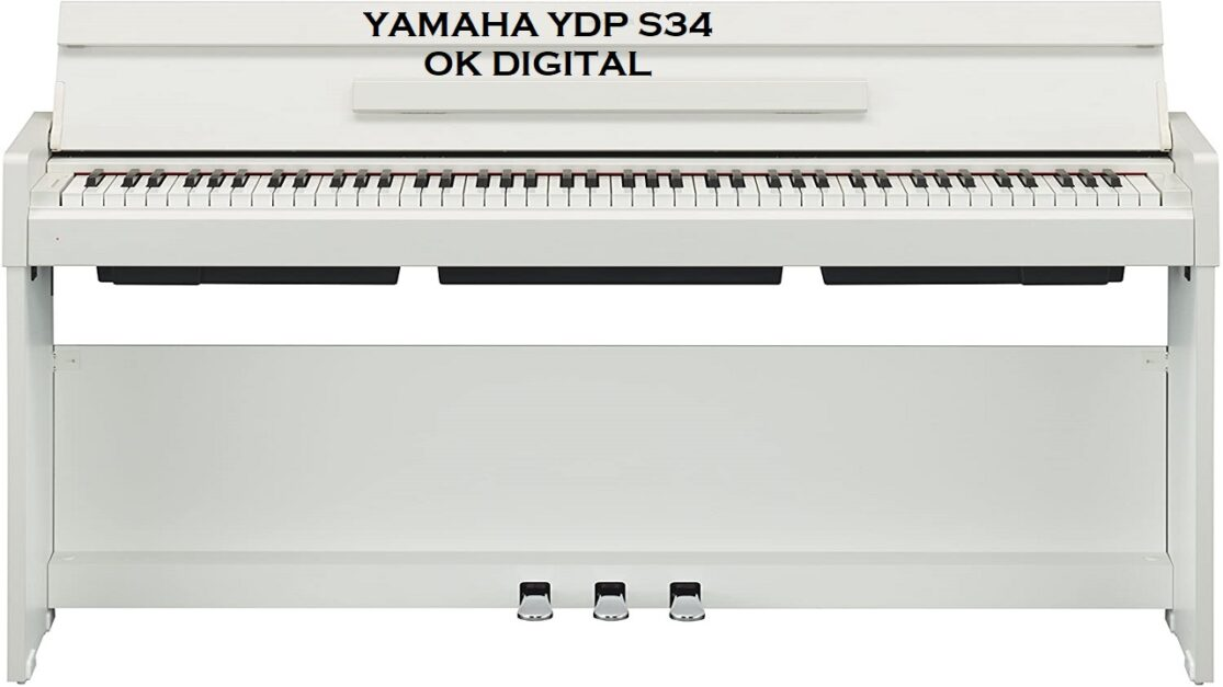The Best Yamaha YDP-S34 Arius Series Slim Digital Keyboard Piano