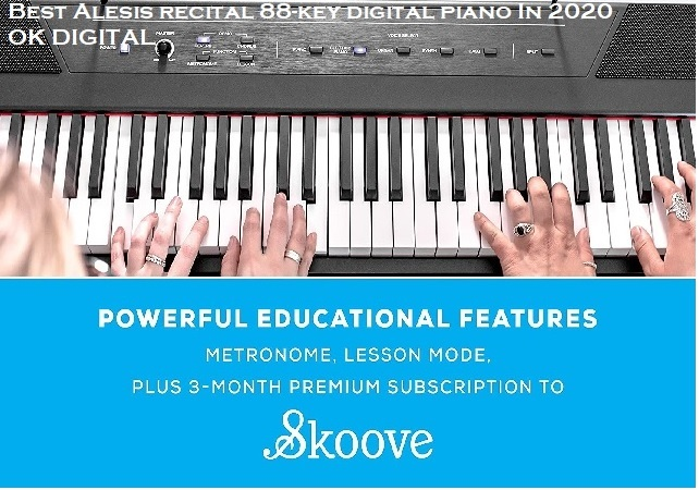 Best Alesis recital 88-key digital piano In 2020
