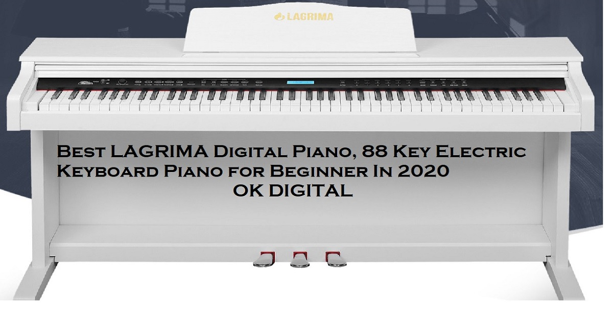 Best LAGRIMA Digital Piano, 88 Key Electric Keyboard Piano for Beginner In 2020