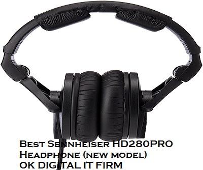 Best Sennheiser HD280PRO Headphone (new model)