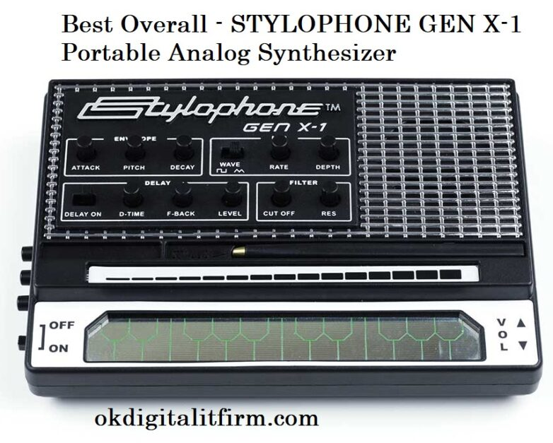 Best Overall - STYLOPHONE GEN X-1 Portable Analog Synthesizer