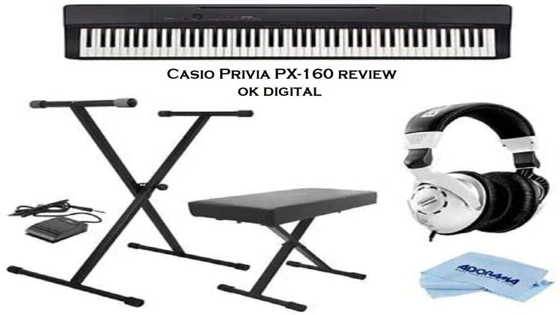 Casio-Privia-Px-160-Review