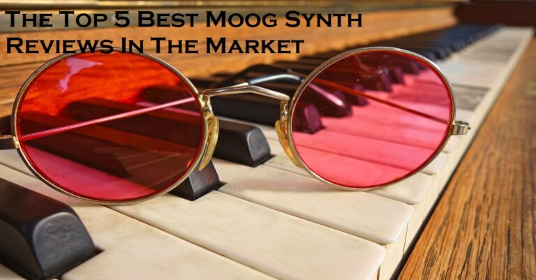 The Top 5 Best Moog Synth Reviews In The Market