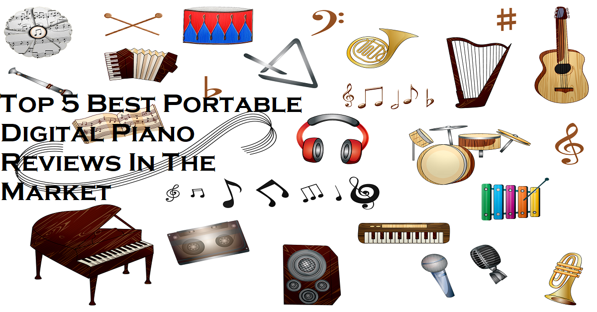Top 5 Best Portable Piano Reviews In The Market