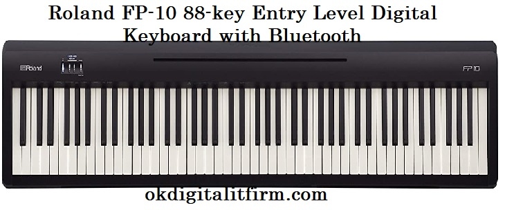 Roland FP-10 88-key Entry Level Digital Keyboard with Bluetooth