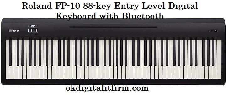 Roland FP-10 88-key Entry Level Digital Keyboard with Bluetooth