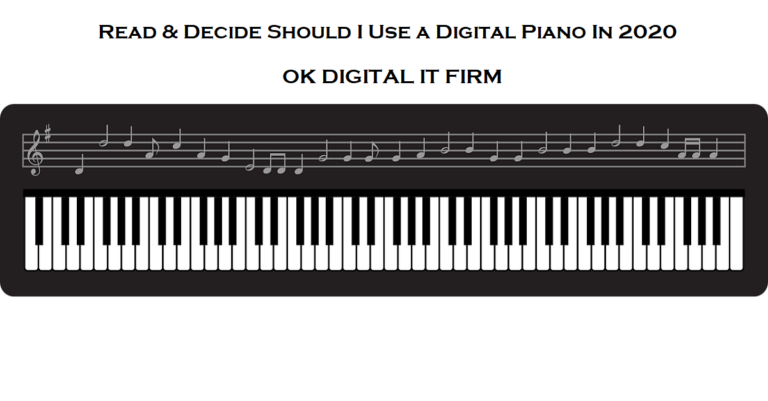 how does a digital piano work