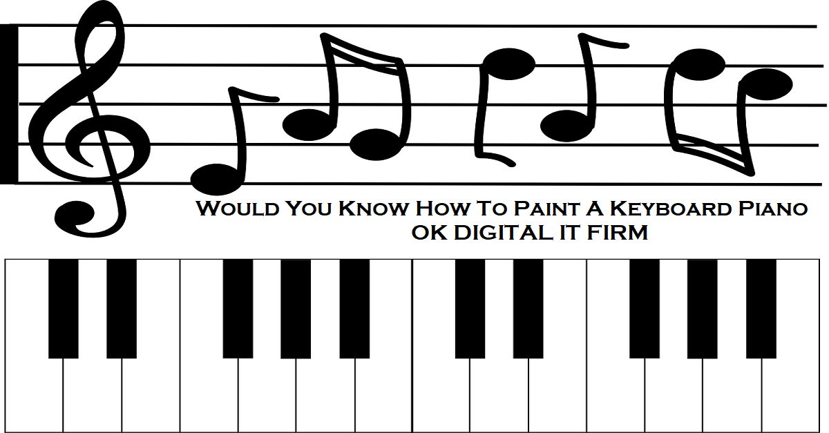 Would You Know How To Paint A Keyboard Piano