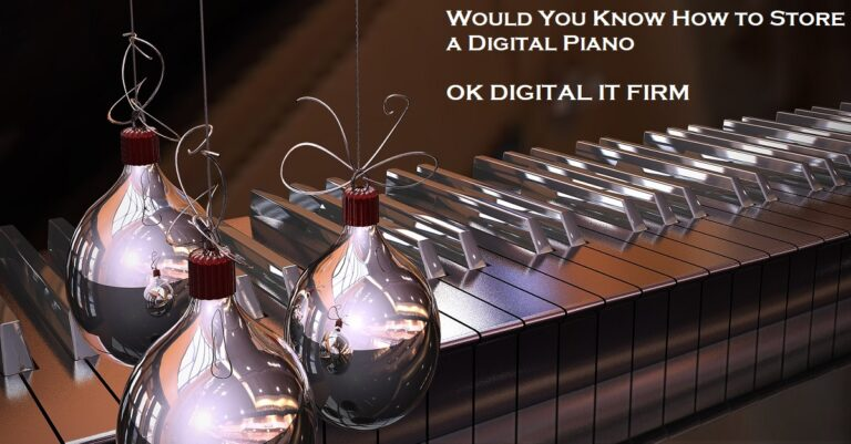 Would You Know How to Store a Digital Piano