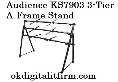 Audience KS7903 3-Tier A-Frame Stand