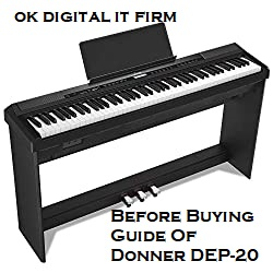 Before Buying Guide Of Donner DEP-20