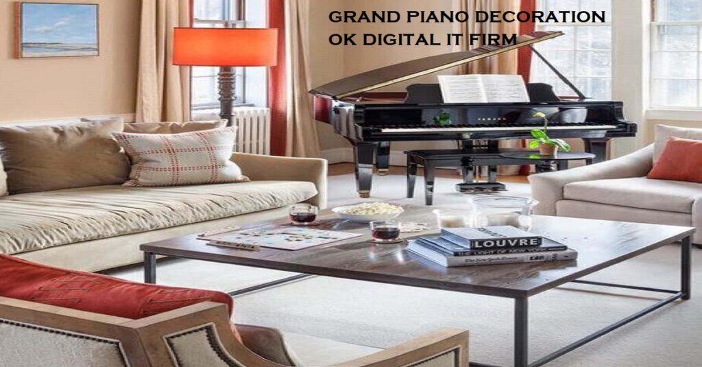 grand piano decoration