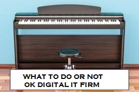 Maintaining Your Digital Piano