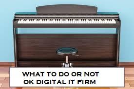 Maintaining Your Digital Piano