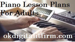 Piano Lesson Plans For Adults