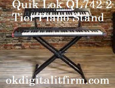 Quik Lok QL742 2 Tier Piano Stand