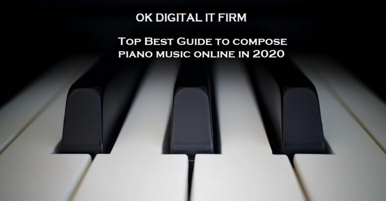Top Best Guide to compose piano music online in 2020