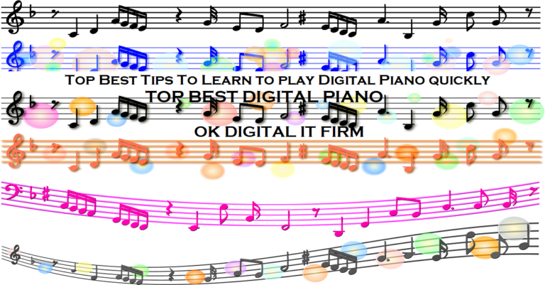 Top Best Tips To Learn to play Digital Piano quickly