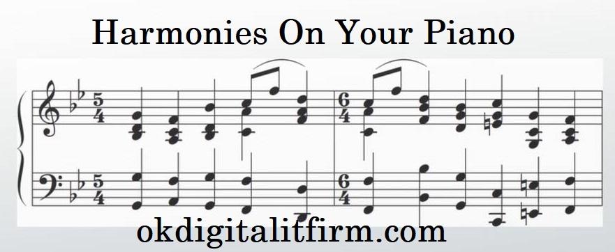 harmonies on your piano
