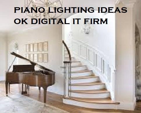 piano lighting ideas