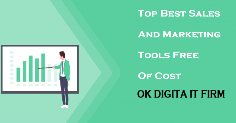 Top Best Sales And Marketing Tools Free Of Cost