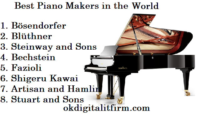 Best Piano Makers in the World
