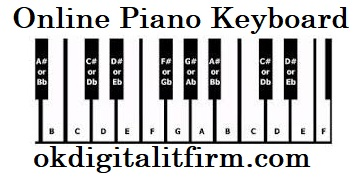 Online Piano Keyboard
