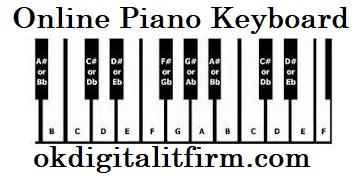 Online Piano Keyboard